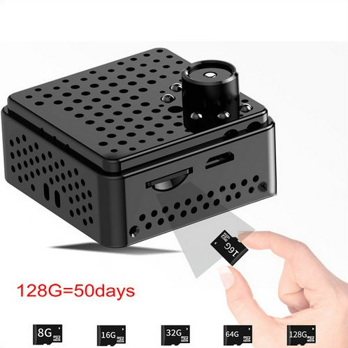 Mini WIFI Camera DVR, 5.0Mega 160degree Camera, Nightvision, SD Max128G - 2