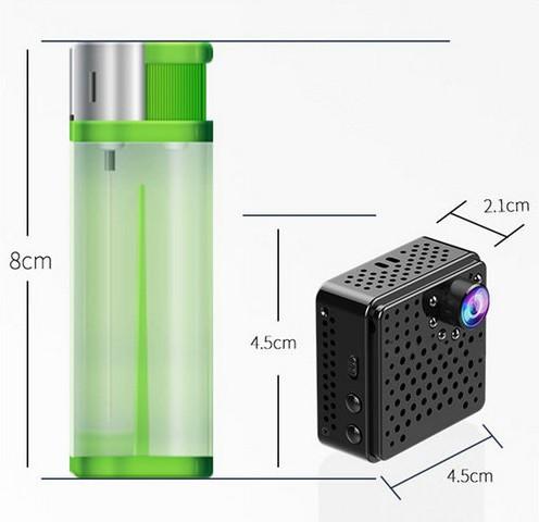 Mini WIFI Camera DVR, 5.0Mega 160degree Camera, Nightvision, SD Max128G - 8