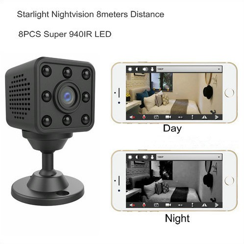 Mini WIFI Camera, HD1080P, H.264, 8 Meters Nightvision Distance - 5