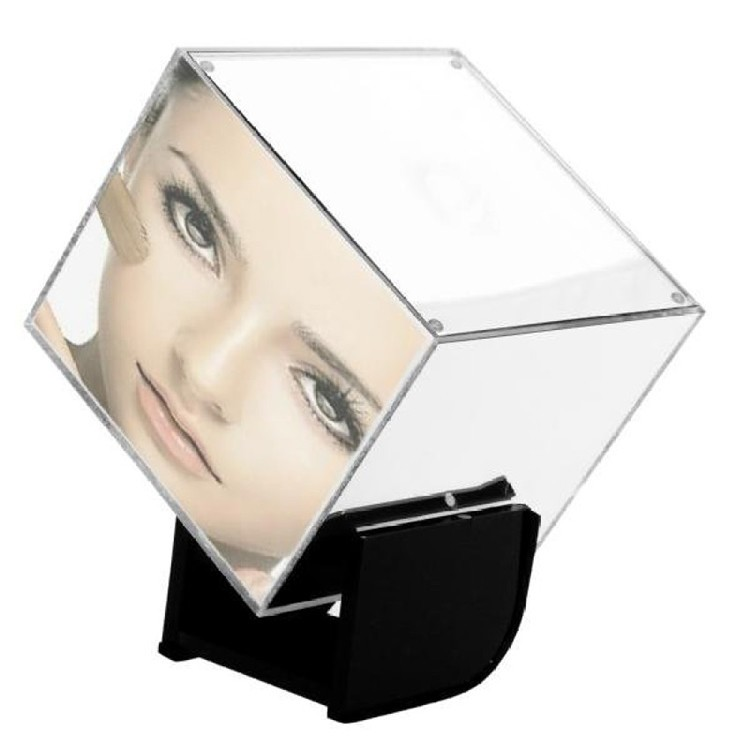 Mirror Box Fashion Safety Hidden Alarm Clock - 4