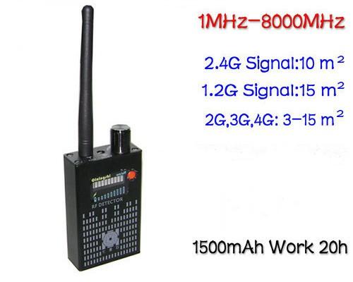 RF detektor chyb - 2