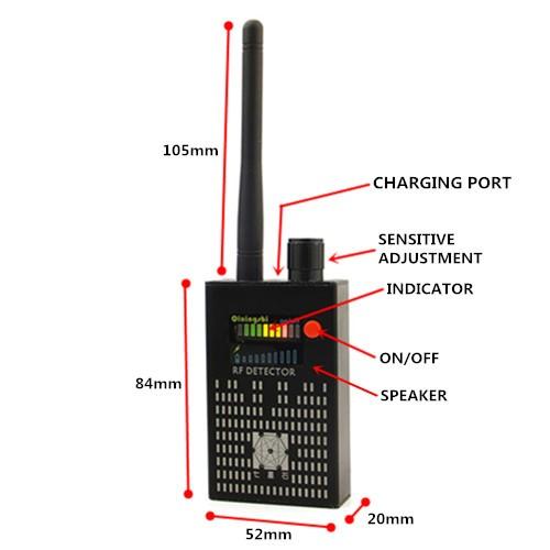RF detektor chyb - 4