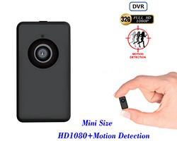 Tinny ThumbSize 1080p Camera, Motion Detection - 1 250px