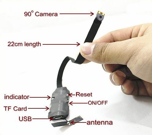 WIFI Pinhole Camera, 22CM Camera - 4