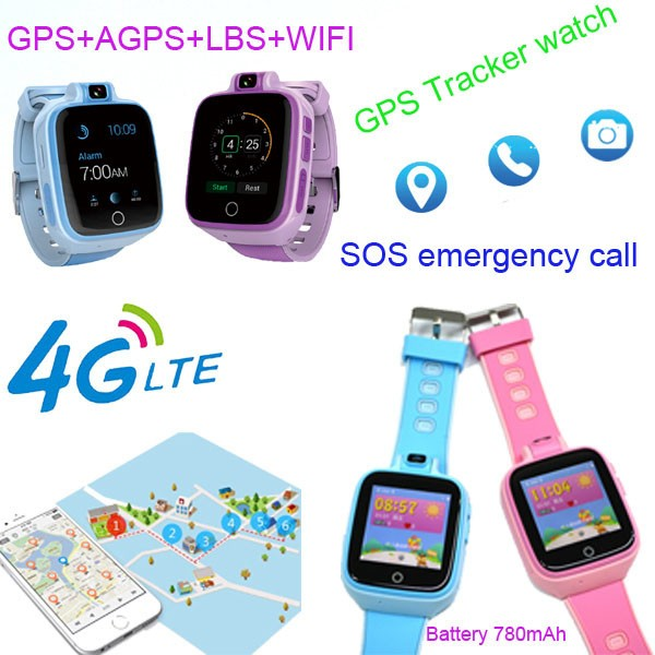 Kids GPS Tracker Watch, 4G, SOS Emergency Call with Video Call (GPS022W) - 01