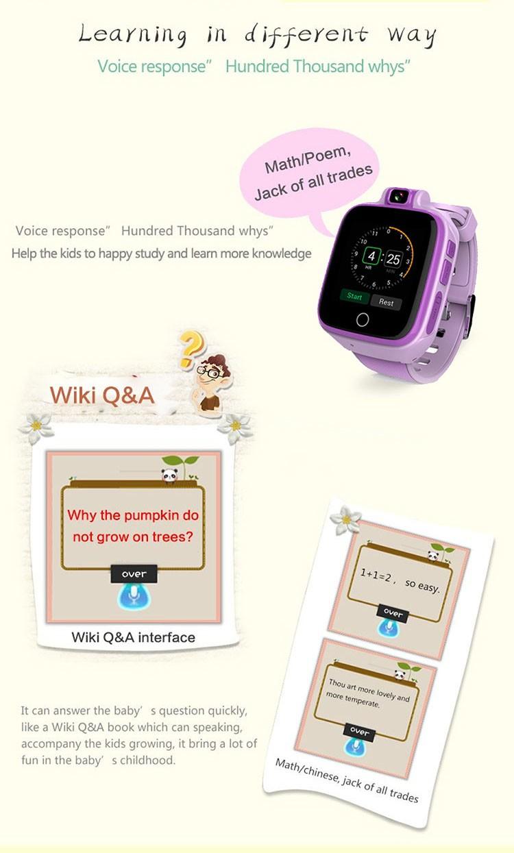 Kids GPS Tracker Watch, 4G, SOS Emergency Call with Video Call (GPS022W) - 08