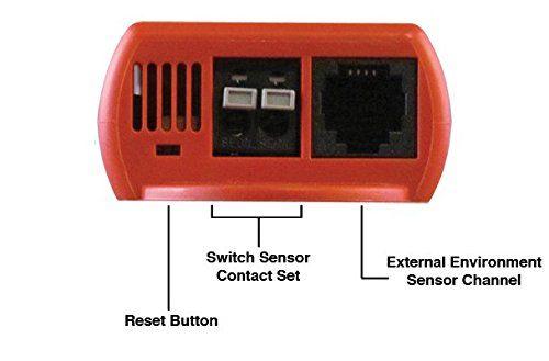 Wi-Fi Temperature & Environment Monitor, Alert, Log, Graph, Cloud, Map - 3