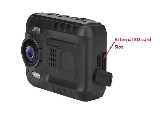 BMC032-Body Worn Camera-Removeable SD card,64GB Max,Novatek 96650 chipset - 10