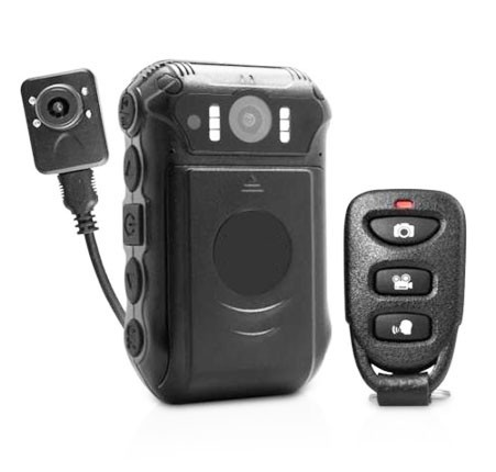 BWC024-Body Worn Camera-Two replaceable 2500mAh batteries