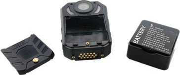 Body Worn Camera 170 Degree Wide angle, Removable battery,128GB