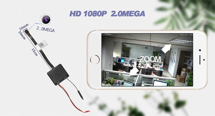 HD 1080P 2.0 mega WiFi Pinhole Camera - 3