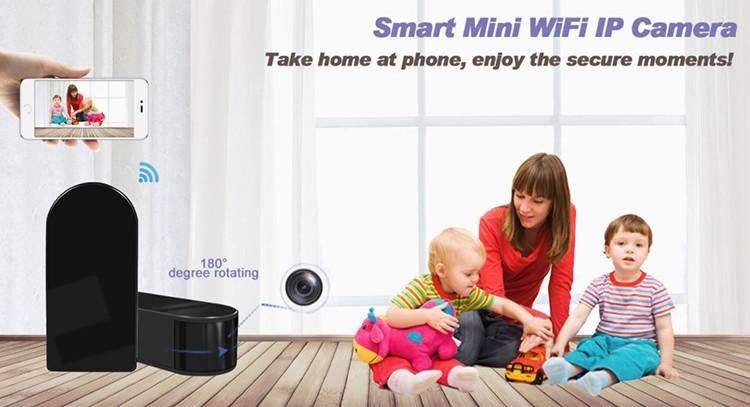 HD 1080P Mini Black Box WiFi Camera - 4