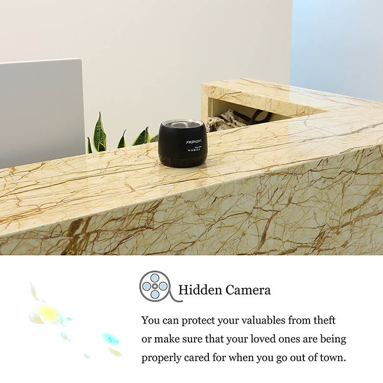 HD 1080P Wifi Hidden Camera Bluetooth Speaker - 2