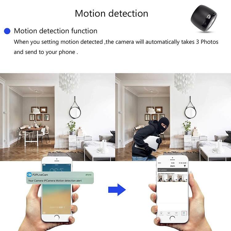 HD 1080P Wifi Hidden Camera Bluetooth Speaker - 4