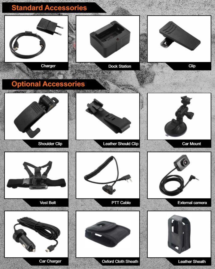 BWC005 - Standard Accessories