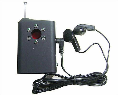 RF Bug Lens Detector, 6pcs led ,0-6.5G,Distance 3m - 1