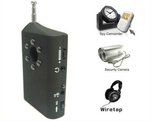 RF Bug Lens Detector, 6pcs led ,0-6.5G,Distance 3m - 2