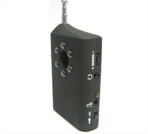 RF Bug Lens Detector, 6pcs led ,0-6.5G,Distance 3m - 5