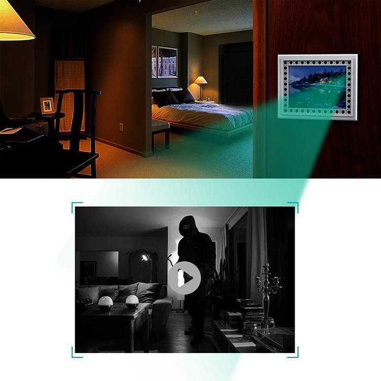 Spy Photo Hidden Camera with Night Vision and Motion Detection - 2