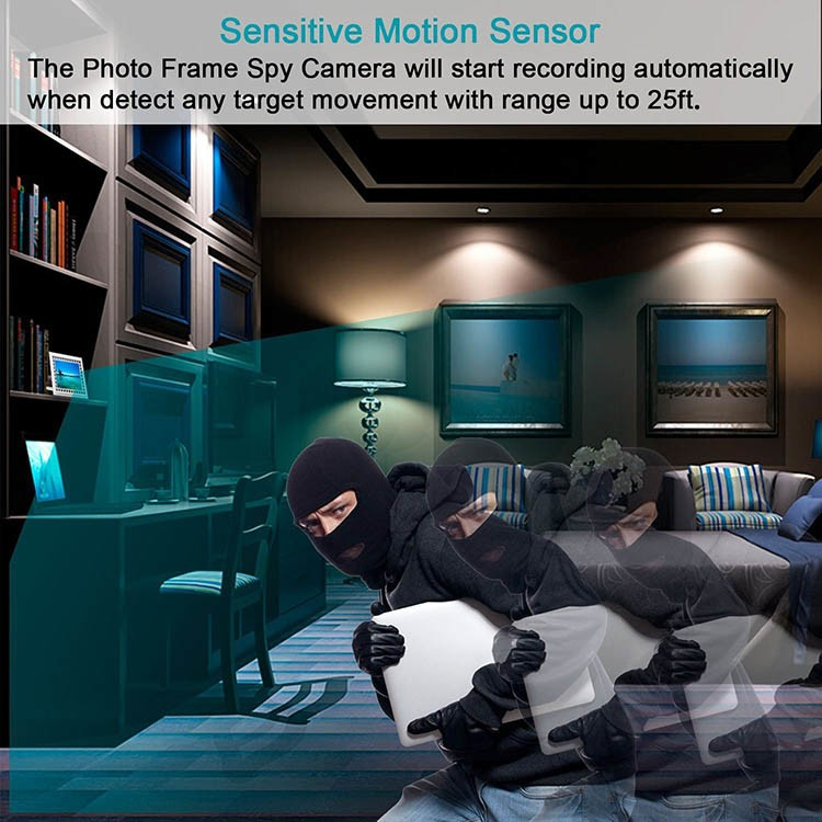 Spy Photo Hidden Camera with Night Vision and Motion Detection - 3