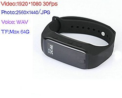 Wristband Camera, Battery Life 90min - 1 250px