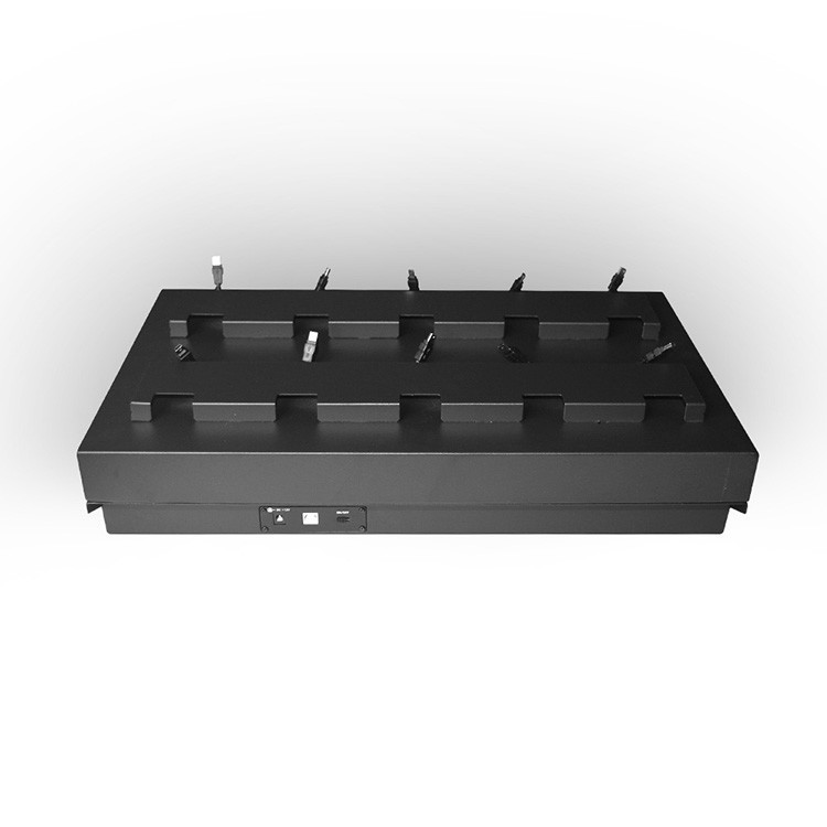 10 Ports station with Display - 8