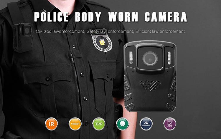 Removeable Battery - Body Worn Camera - 1