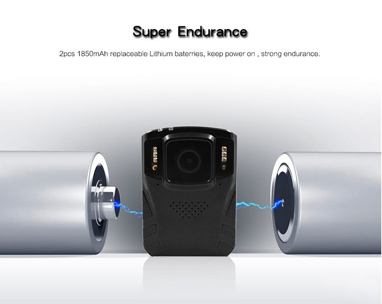 Removeable Battery - Body Worn Camera - 7