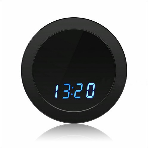 Night Mirror WIFI Clock Camera, Two Way Talk, Super Nightvision - 2