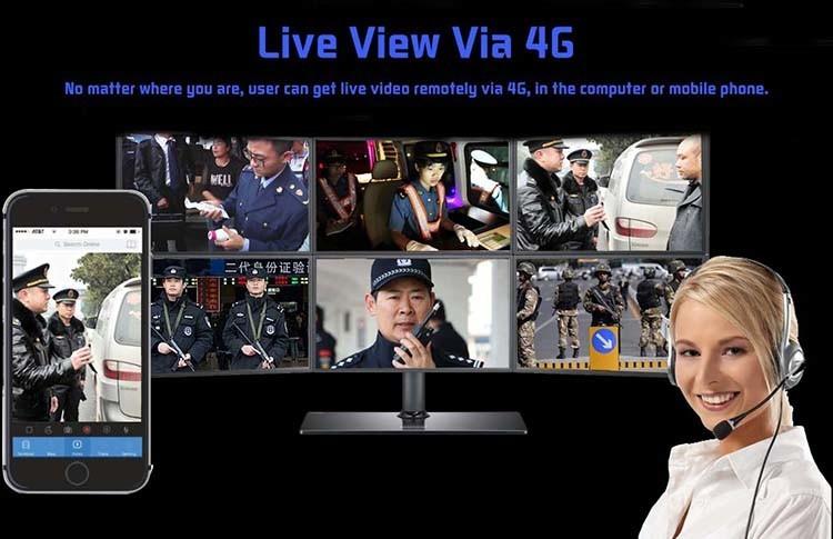 WIFI,GPS,3G,4G Body Worn Camera - 10
