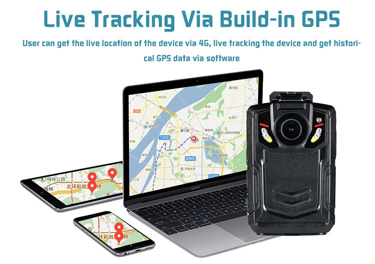WIFI,GPS,3G,4G Body Worn Camera - 4