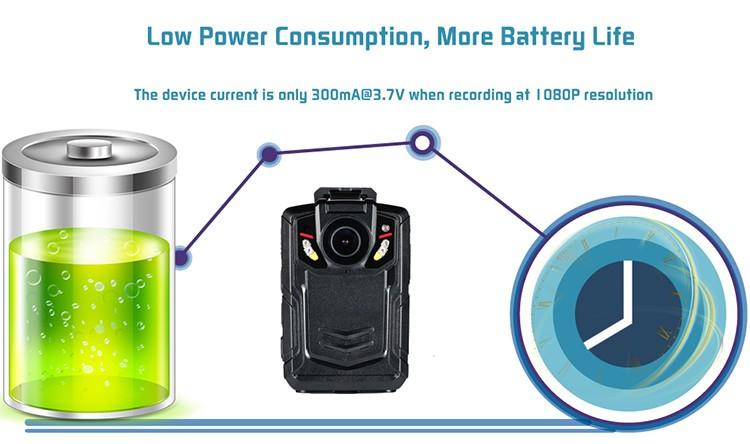WIFI,GPS,3G,4G Body Worn Camera - 7