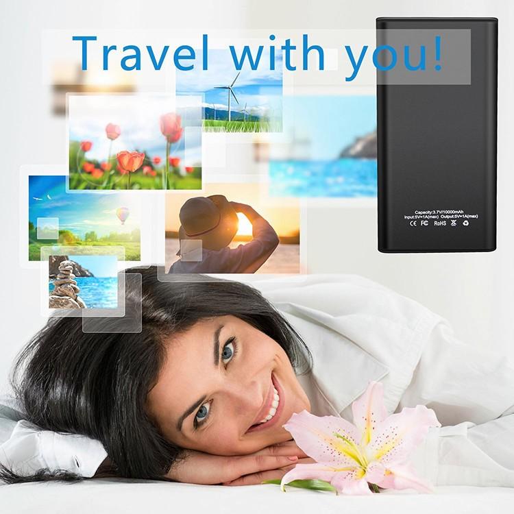 4K WIFI Power Bank Camera, SD Card Max 128G, Night Vision - 6