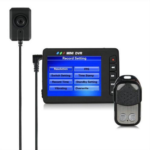 Mini Portable Button Camera DVR, Wireless Remote Control - 6