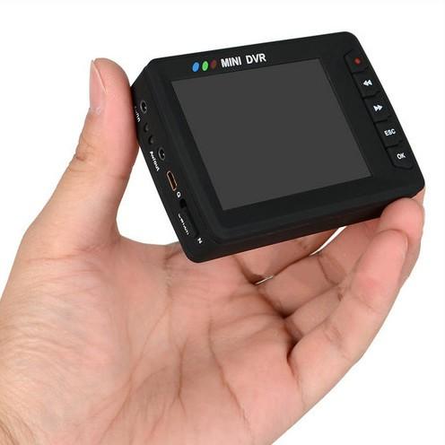 Mini Portable Button Camera DVR, Wireless Remote Control - 7
