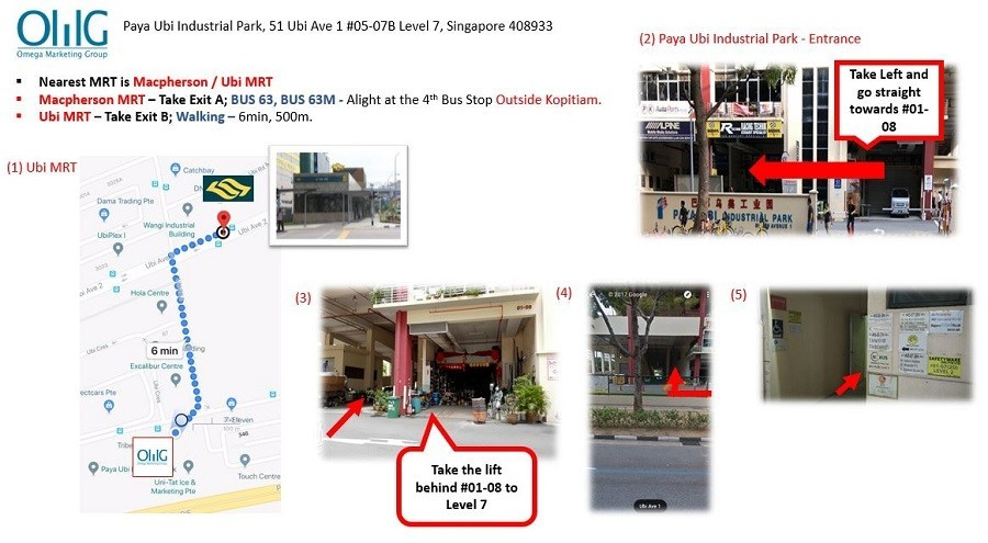 To OMG Office via MRT and Bus - version 3