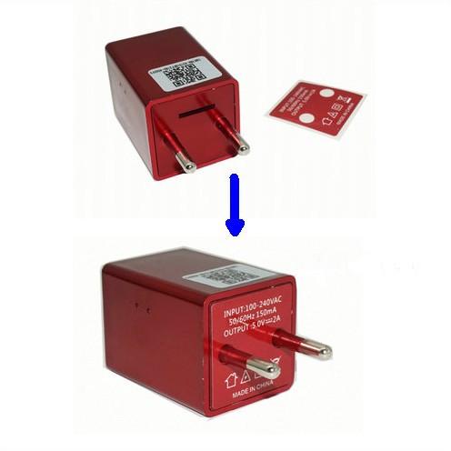 WIFI Charger Camera DVR, HISILICON, 5.0M Camera, 1080P, TF Card - 3