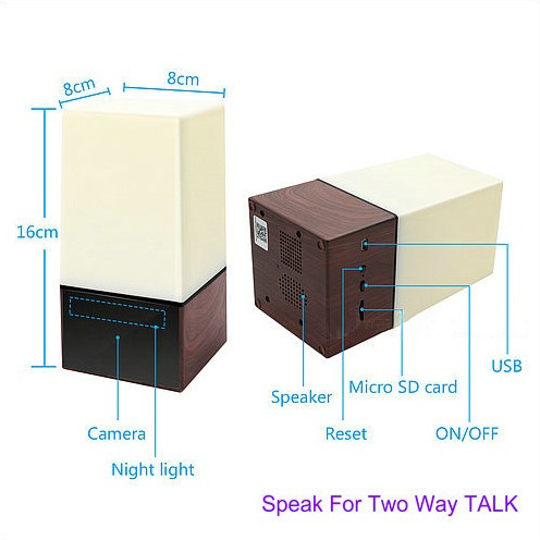 WIFI Color Light Camera DVR, HD1080P, H.264, batari 3500mAh, Labo Wada hadal - 6