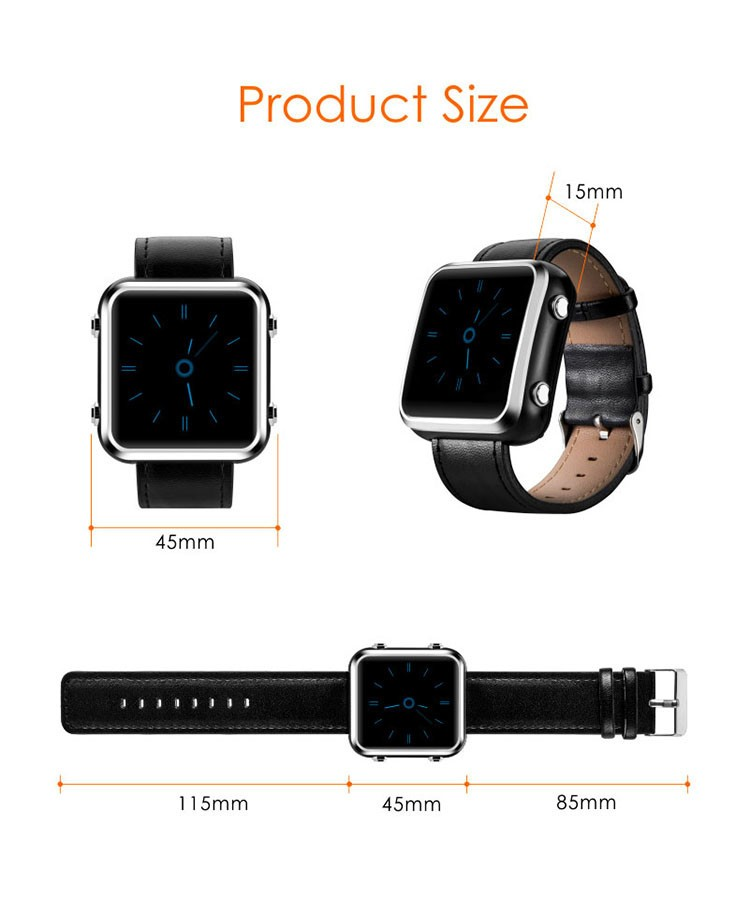 Elderly Health Monitoring GPS Tracker Watch - 14