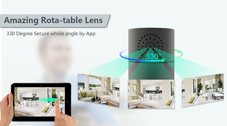 HD 1080P Cylinder Security Wi-Fi Camera - 1