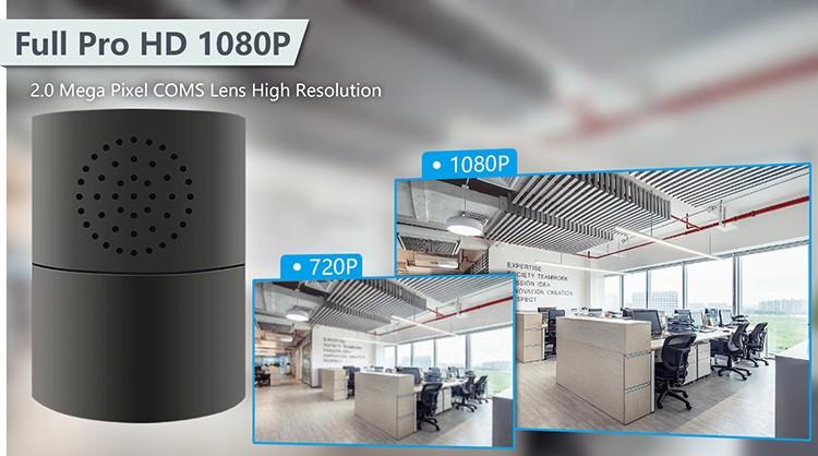 HD 1080P Cylinder Security Wi-Fi Camera - 6