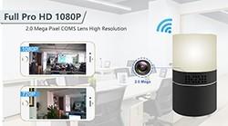 HD 1080P Desk Lamp Security Wi-Fi Camera - 1 250px