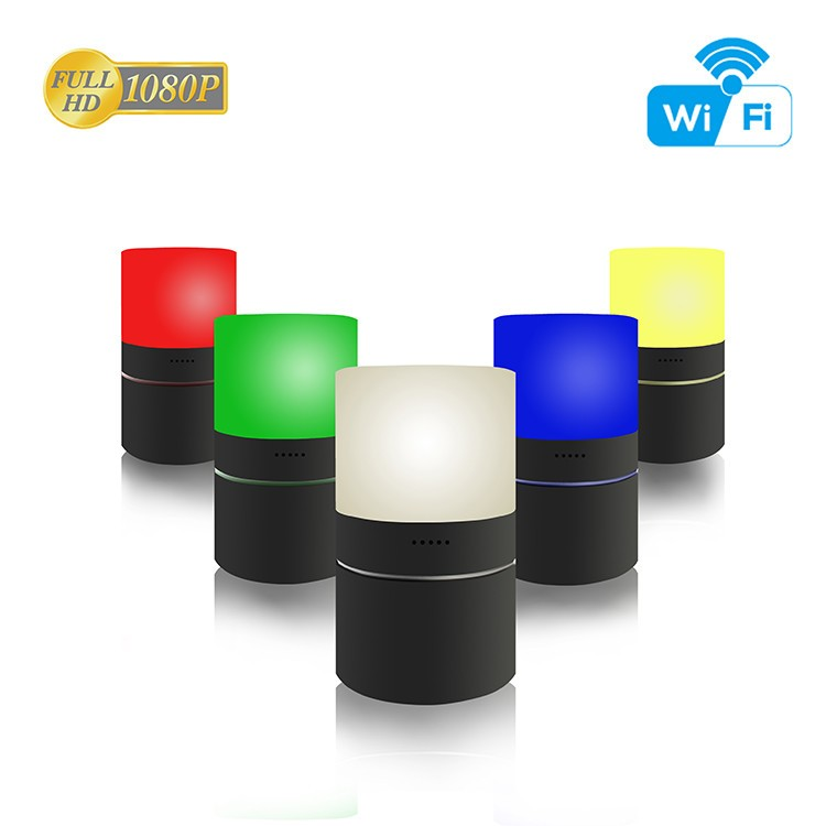HD 1080P Stolní lampa pro zabezpečení Wi-Fi kamery - 10