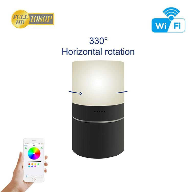HD 1080P Desk Lamp Security Wi-Fi Camera - 11