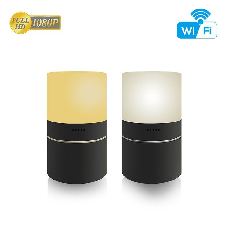 HD 1080P Desk Lamp Security Wi-Fi Camera - 7