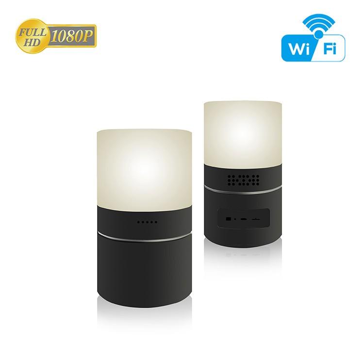 HD 1080P Desk Lamp Security Wi-Fi Camera - 8