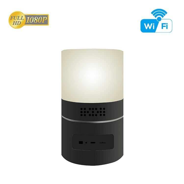 HD 1080P Desk Lamp Security Wi-Fi Camera - 9