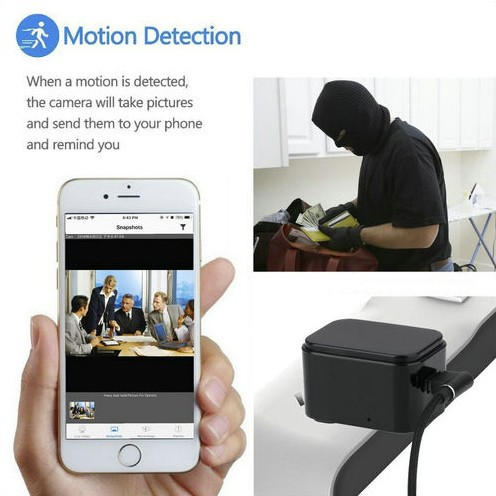 WIFI Charger Camera, HD1080P, 120 Degree imperforate lens - 8