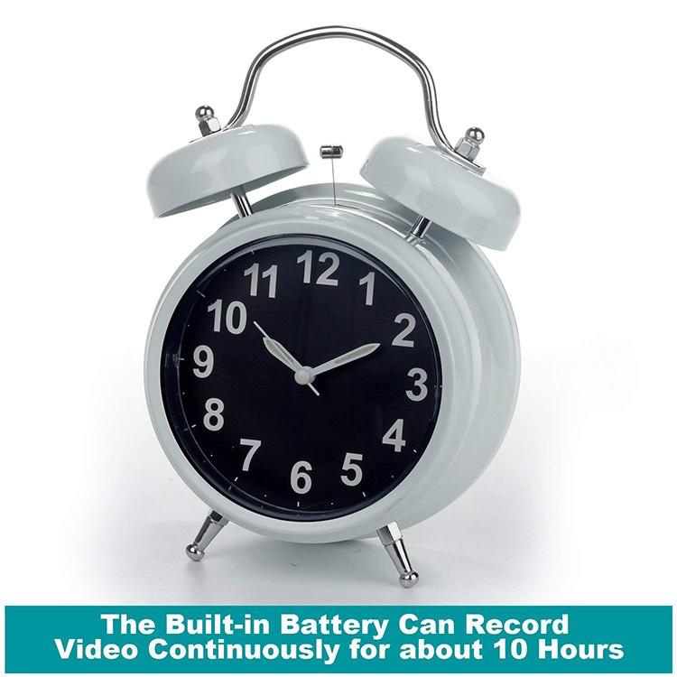 WIFI Hidden Spy Camera Alarm Clock, Home Security Camera Loop Video Recorder - 2