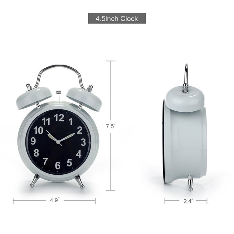 WIFI Hidden Spy Camera Alarm Clock, Home Security Camera Loop Video Recorder - 4